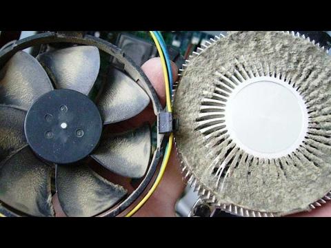 Как почистить вентилятор в компьютере