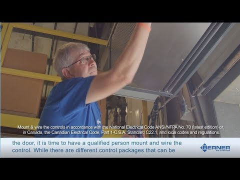 How to Install an Industrial Air Curtain