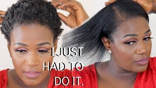 I JUST COULDN'T DO IT ANYMORE ... I HAD TO DO IT !! | JANE NASHE
