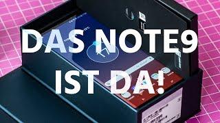 Samsung Galaxy Note 9 im Unboxing: Endlich ein Note, das den Namen verdient?