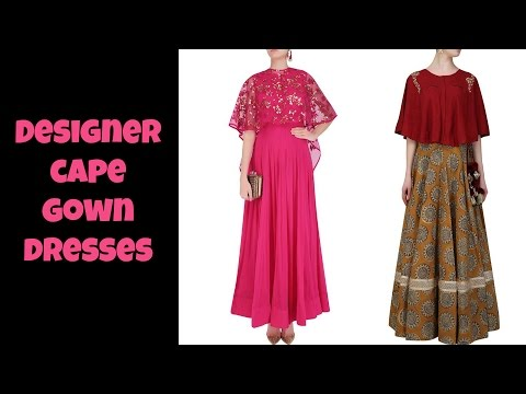 Designer Cape Dresses