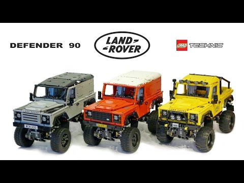 LEGO RC ADVENTURES - Landrover Defender 90 series