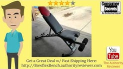 [Review & SALE] Bowflex 5.1 Adjustable Weight Bench