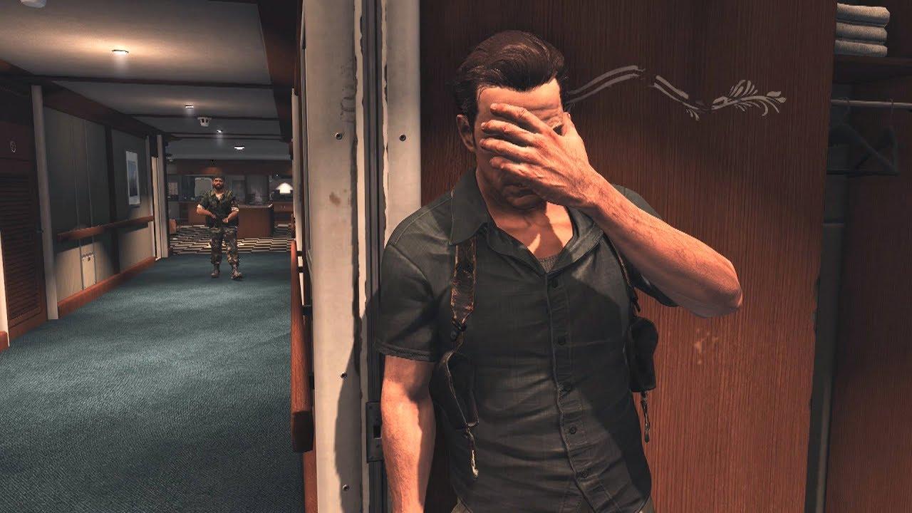 Max Payne 3 Brutal Satisfying Gameplay Kills Pc Showcase Rtx