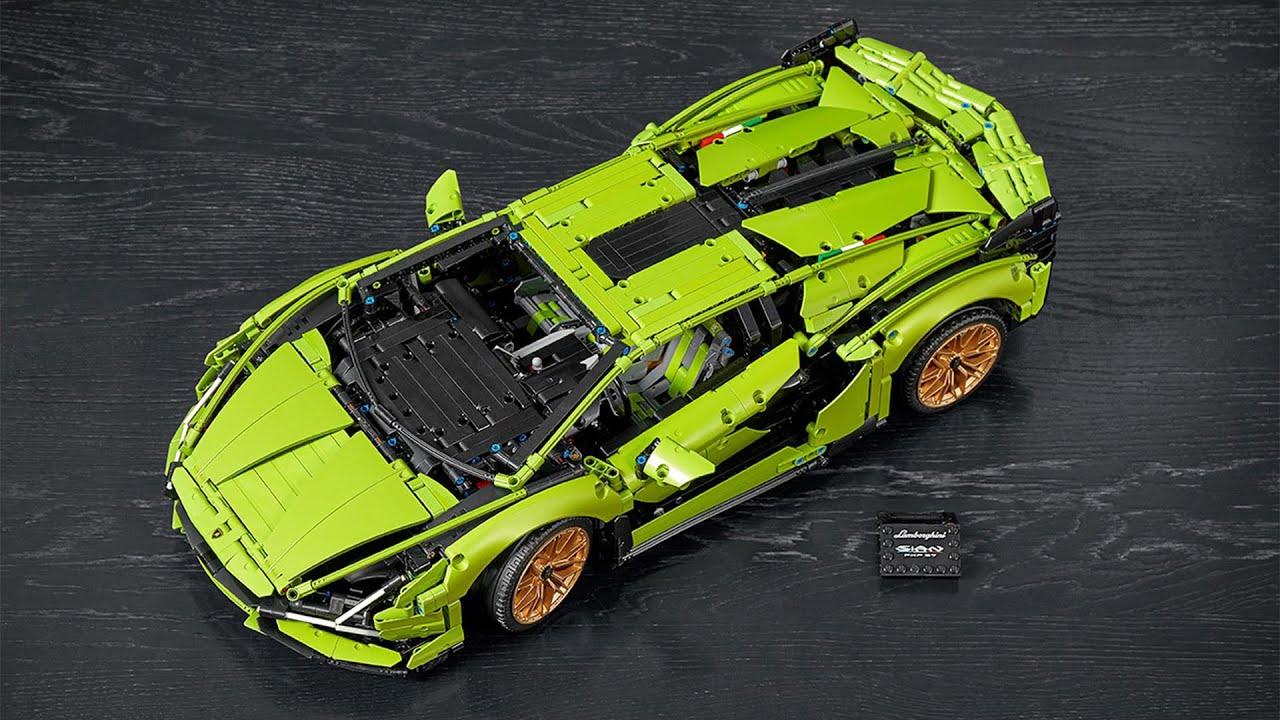 How The LEGO Technic Lamborghini Sián FKP 37 was recreated