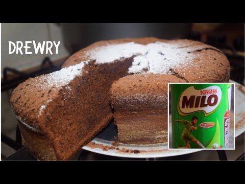 DIVINE GHANA MILO CAKE// HANDMADE