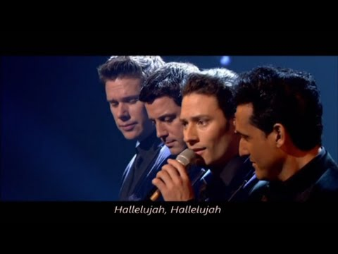 Il divo hallelujah with lyrics live in london youtube - Il divo songs ...