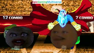 Annoying Orange And Doctor Strange VS Nutty And Flippy The Bear In A MUGEN Match / Battle / Fight