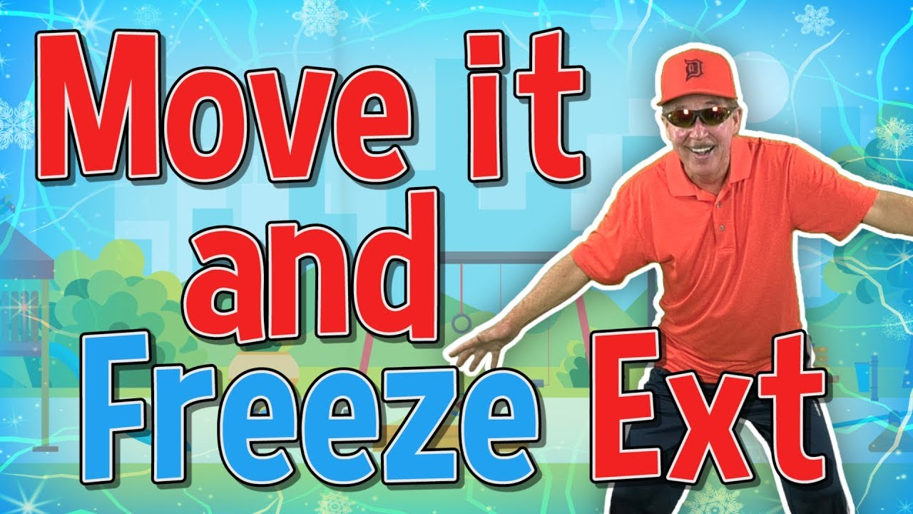 Download Move it and Freeze Extended | Brain Breaks | Jack Hartmann