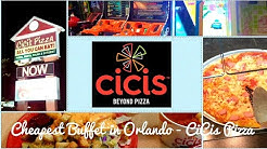 Cheapest Buffet in Orlando. CiCis Pizza & Salad