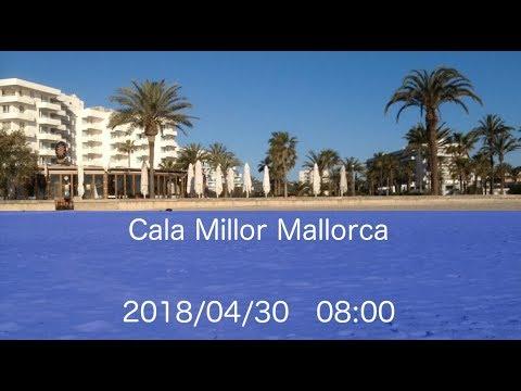 Mallorca Cala Millor Beach 2018/04/30 08:00