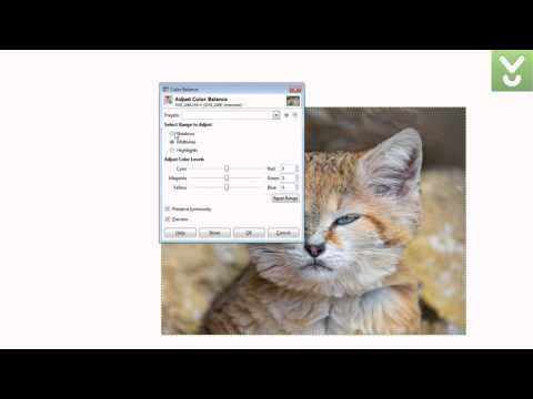 GIMP - Create and alter photos and graphics - Download Video Previews