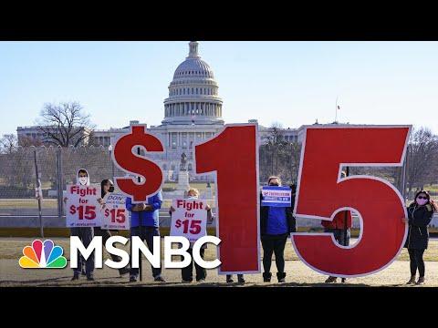 Minimum Wage Fight Puts Renewed Focus On Undemocratic Filibuster In Senate | Rachel Maddow | MSNBC