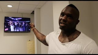 DILLIAN WHYTE GOES IN 39 F K TONY BELLEW 39 WILDER IS A PU SY RIPS INTO CHISORA JOSHUA PARKER