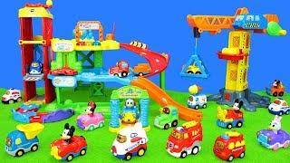 Feuerwehrauto, Müllauto, Traktor, Eiswagen, Bus, Polizei, Lastwagen - TuT Tut Baby Flitzer Spielzeug