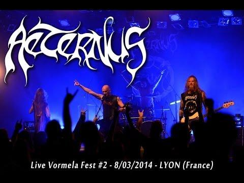 Aeternus - There's No Wine like the Blood's Crimson (live Vormela Fest 8/03/2014)