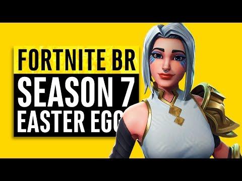Fortnite Battle Royale | Season 7 Easter Eggs, Memes and Story Recap