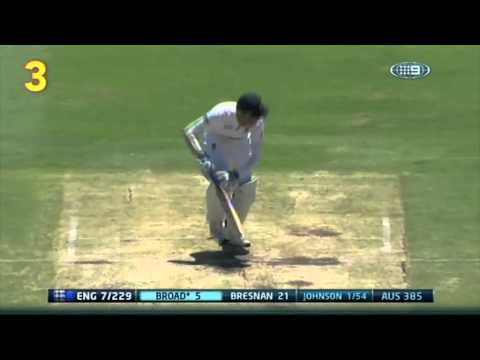 Top 10 Aussie Ashes wickets