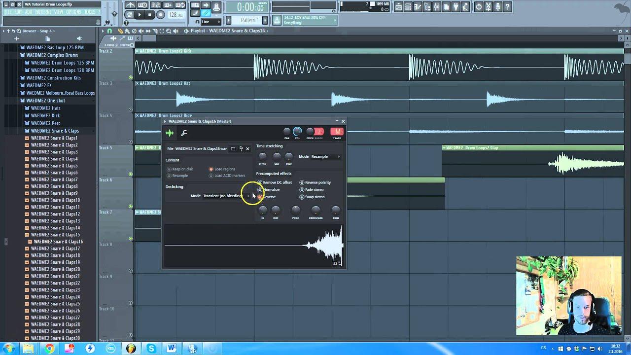 edm drum packs fl studio