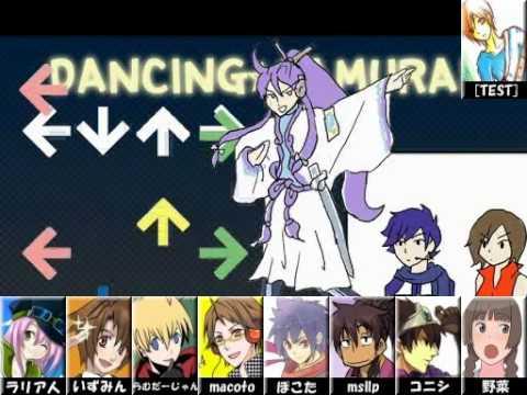 合唱 『ダンシング☆サムライ』 ヘァ! Dancing Samurai  Nico Nico Chorus Hya!
