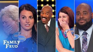 Family Feud's BEST BLOOPERS and EPIC FAILS!!! | Part 9