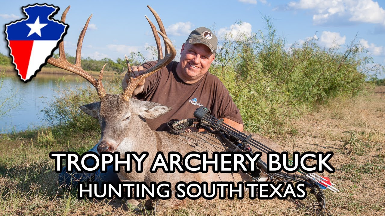 """texas bowhunting 156\"""" 10 point gopro camera youtube"""