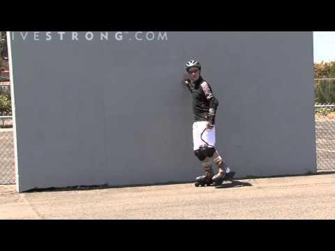 Cách trượt patin cơ bản 3 - Làm sao để trượt trên 1 chân