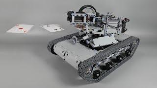 Building A Card Shooting Lego Tank
