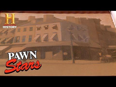 Pawn Stars: Edward Hopper Charcoal Study Piece