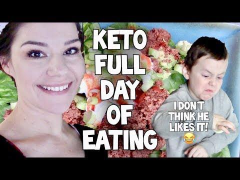 Full Day of Eating Basic KETO