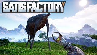 🏭 Satisfactory 04 | Unken Otto & die Eisenproduktion | Gameplay German Deutsch thumbnail