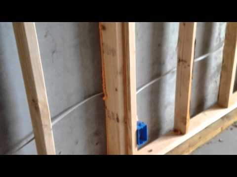Building A Home 12b Framing Floating Walls In A