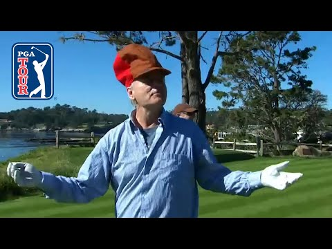The best of Bill Murray at AT&T Pebble Beach