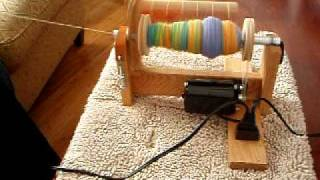 Vespera Electric Spinning Wheel - Espinner In Action Video #2
