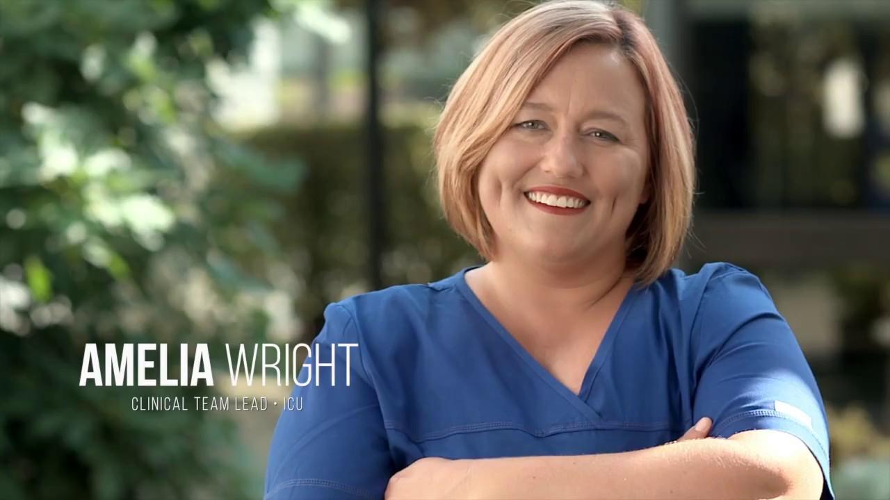 Life as Duke Nurse: Amelia (ICU - Duke Regional Hospital)