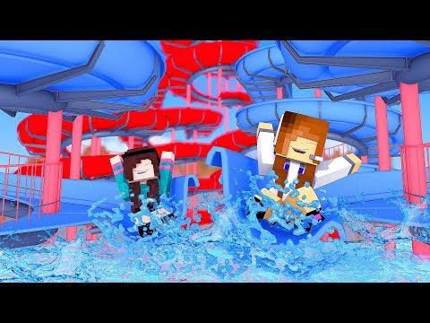 Minecraft: FAZENDINHA #21 - O INCRÍVEL TOBOÁGUA! | BIBI |