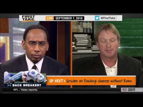 Jon Gruden Full Interview On Top QBs and NFL