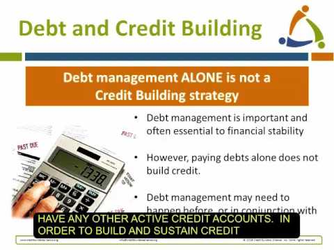 Rebuild Credit and Increase Financial Stability