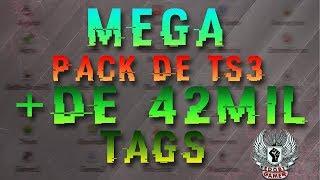 MEGA PACK DE TS3 COM + DE 42 MIL TAG'S RARAS