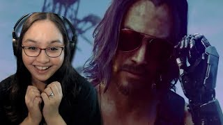 Keanu Reeves?! - Cyberpunk 2077 Official E3 2019 Cinematic Trailer Reaction