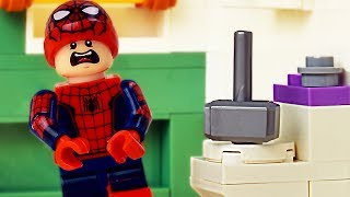 LEGO Spider-Man Pranked By Thor