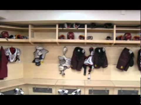 Umd Bulldogs Locker Room Youtube