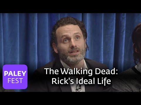 The Walking Dead - Andrew Lincoln Muses On Rick's Ideal Life