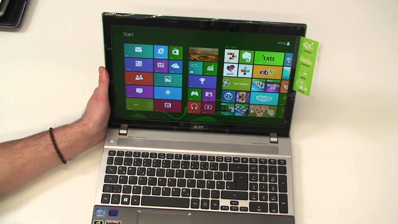 Acer Aspire V3 571G Hands On