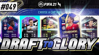 FIRST EVER CO-OP DRAFT!!! - #FIFA21 - ULTIMATE TEAM DRAFT TO GLORY #49