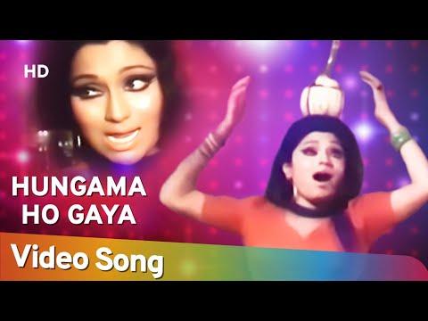 Download Hungama Ho Gaya | Anhonee (1973) | Bindu | Asha Bhosle  Hits | Bollywood Dance Song