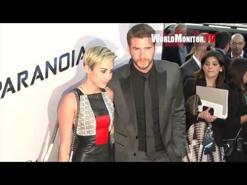 Liam Hemsworth arrives at Relativity Media's PARANOIA Los Angeles Film premiere