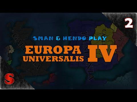 IRISH AND MOROCCAN WARS! Sman & Hendo Play: Europa Universalis IV [Session 1, Part 2] (Series 2)