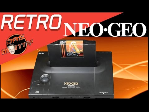 Neo Geo Teil 1 AES  MVS CD NeoGeo Retro Konsolen Review in Deutsch German - Das Monty