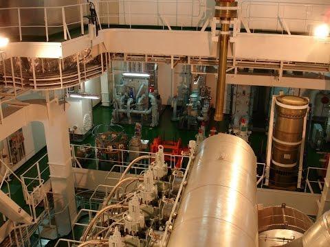 Suezmax Tanker Engine Room Tour
